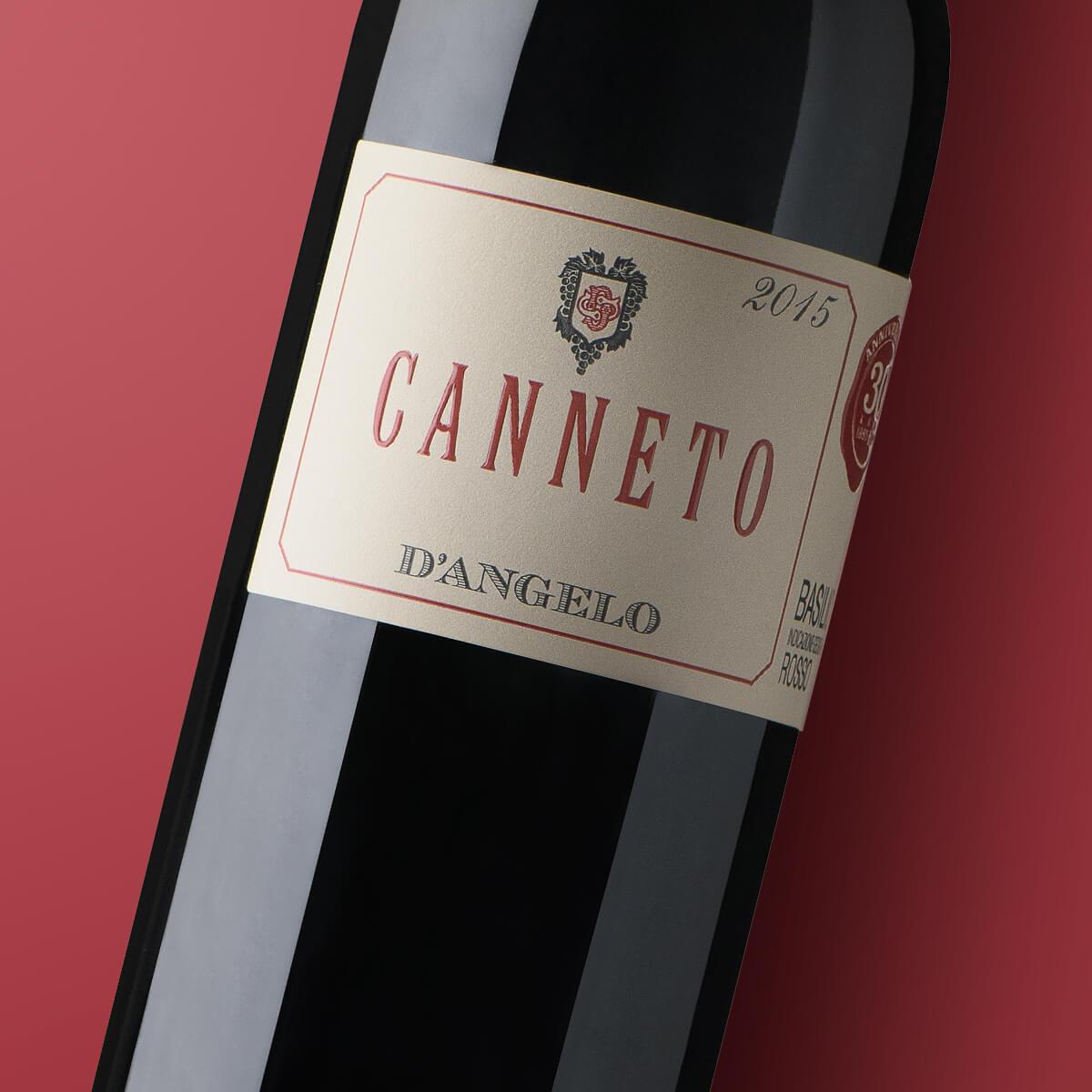 canneto vino aglianico del vulture IGT dangelo
